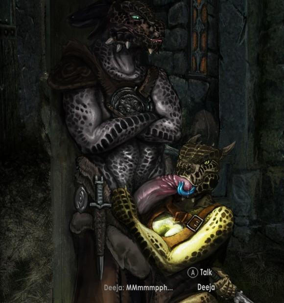 The Elder Scrolls - Argonians & Khajiits