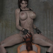 Crazyxxx3dworld - Lara Croft + Clara Revens