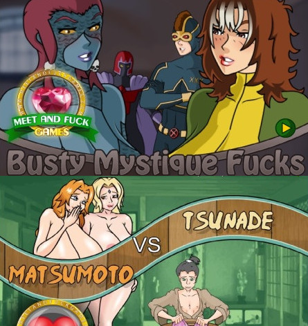 Meet And Fuck - Matsumoto vs Tsunade + Busty Mystique Fucks