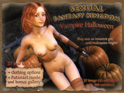 GalaxyPink - Sexual Fantasy Kingdom: Vampire Halloween