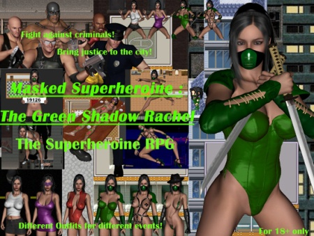 Masked Superheroine: The Green Shadow Rachel