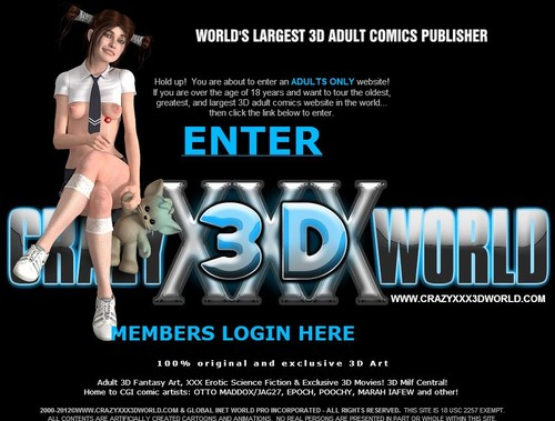 Crazyxxx3Dworld - Full SiteRip