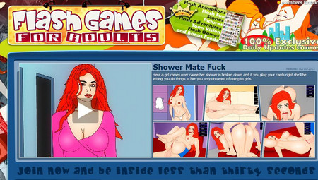 Flash games for adults