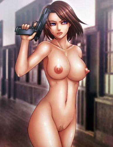 Jill Valentine Nude Gif 3