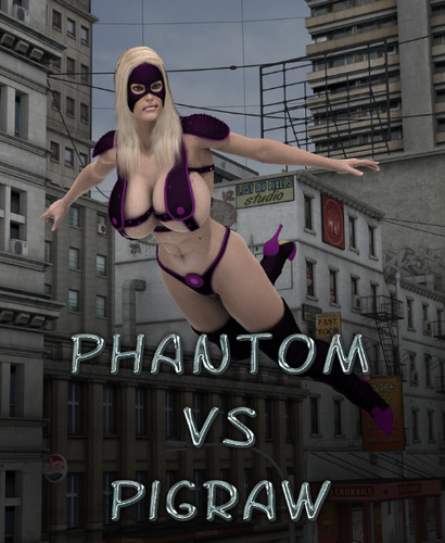 Captured-Heroines - Phantom vs Pigraw