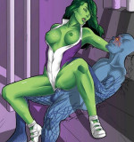 She-Hulk Artwork – Mega Pack