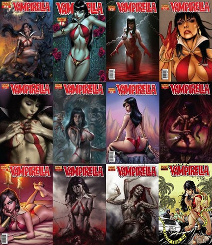 Dynamite - Vampirella Comics Colection