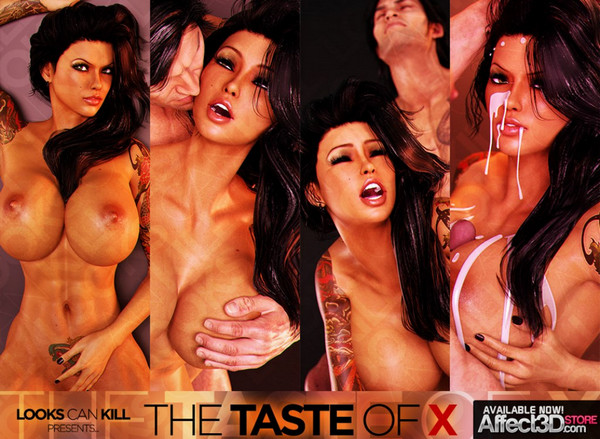 Affect3d Looks Can Kill - The Taste Of X