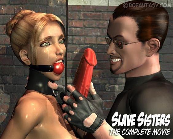 Dofantasy - 3D Slave Sisters Parts 1-2-3