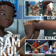 Affect3D - 3DGspot GloryHole + XtraCredits