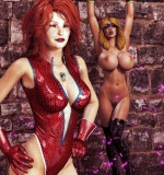 Hipcomix – Hip Gals – Halloween Sex Kitten 01-08