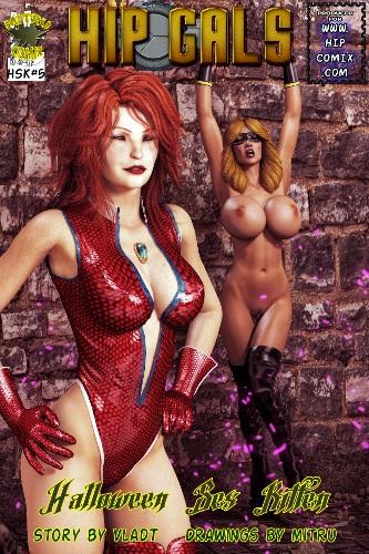 Hipcomix - Hip Gals – Halloween Sex Kitten 01-08