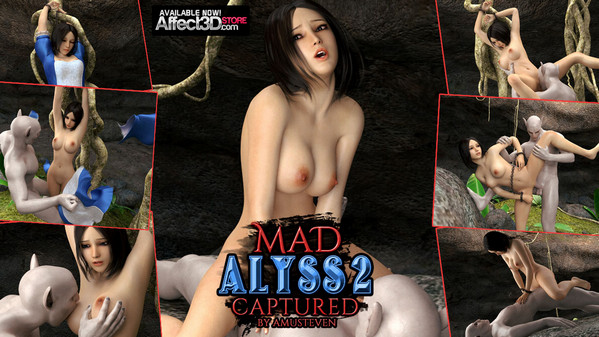 Affect3D Amusteven - Mad Alyss 2 Captured