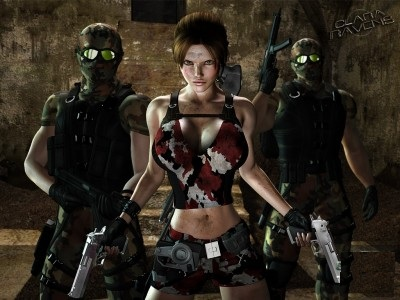 Epoch - Clara Ravens and Two Mercenary Thugs