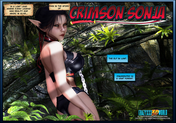 Crazyxxx3Dworld - Crimson Sonja 1-5