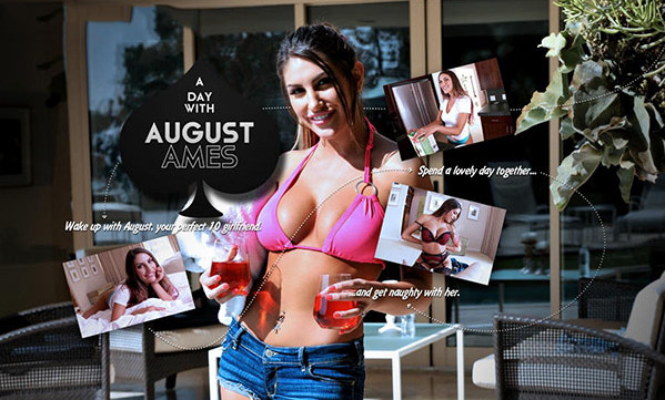 Lifeselector - A Day with August Ames