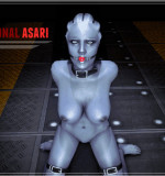 My Personal Asari (Mass Effect) Flash