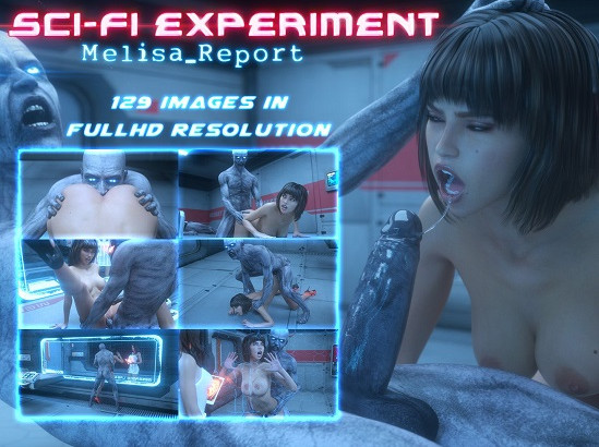 Art by Lord Kvento - Melisa Report Sci-Fi Experiment