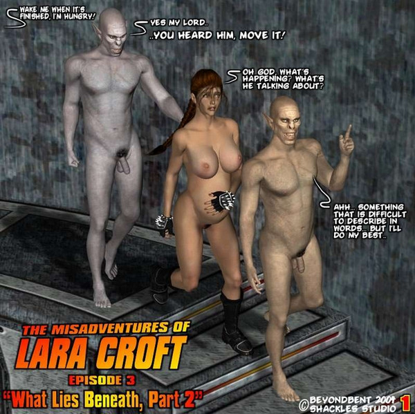 Art by Beyondbent – The Misadventures of Laracroft 1-3