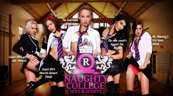 Lifeselector – Naughty College: Sexy & Sporty