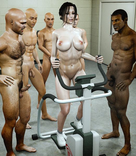 Art by Jared999D – Naked Gym