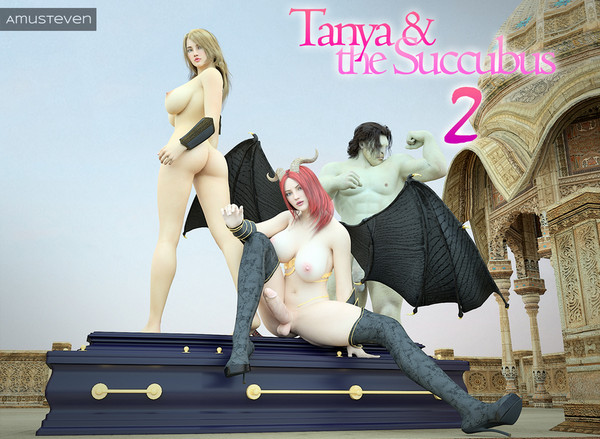 Art by Amusteven -Tanya & The Succubus 2 - Deluxe Edition