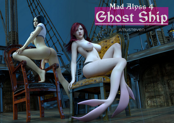 Affect3D Amusteven – Mad Alyss 4 – Ghost Ship