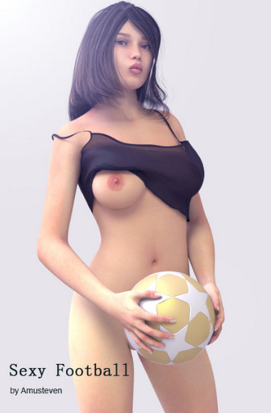 Art by Amusteven - Sexy Football with aliens (Complete)