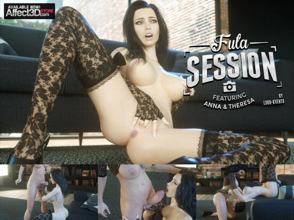 Affect3D - Lord-Kvento - Futa Session Featuring Anna & Theresa (+ Videos)