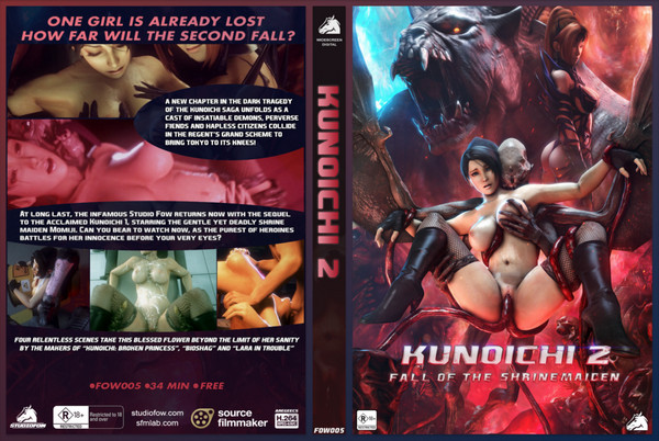 Studiofow - Kunoichi 2: Fall of the Shrinemaiden