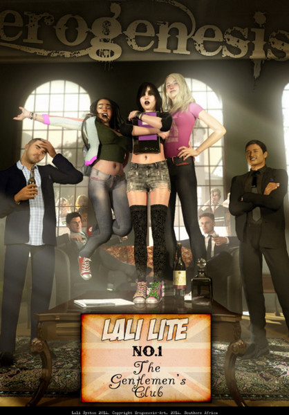 Lali Lite 1 - The Gentlemens Club (Erogenesis)