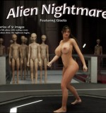 Artist Blackadder – Alien Nightmare