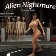 Artist Blackadder – Alien Nightmare