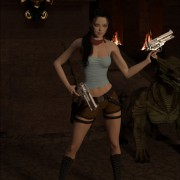DarkSoul3D - Tomb Raider - The Death Mask of 'Ku'k Bahlam' - Part 1-2