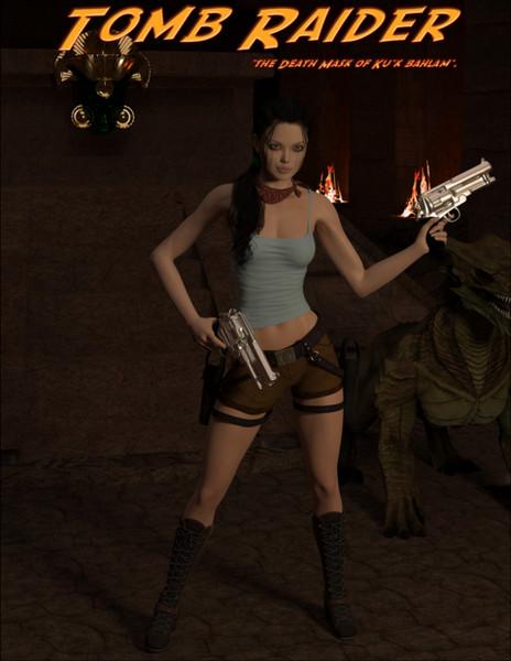DarkSoul3D - Tomb Raider - The Death Mask of 'Ku'k Bahlam' - Part 1-2