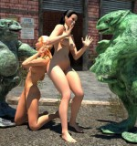 3DFanXXX – Nasty Frogs