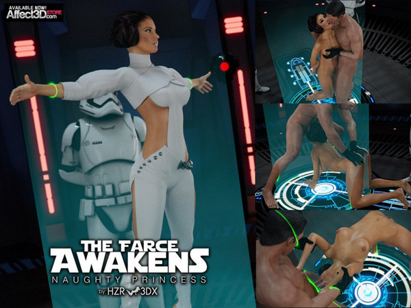 Affect3D HZR – The Farce Awakens - Naughty Princess (Star Wars)