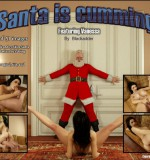 Blackadder – Santa Is Cumming