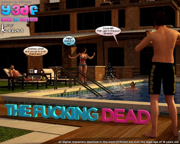 Art by Y3DF – The Fucking Dead