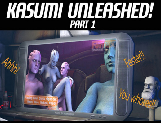 JacksKindaHere - Kasumi Unleashed (Ongoing) (Mass Effect)