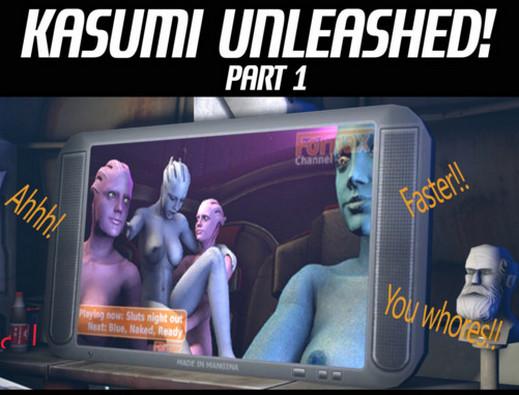 JacksKindaHere - Kasumi Unleashed (Ongoing) (Mass Effect)