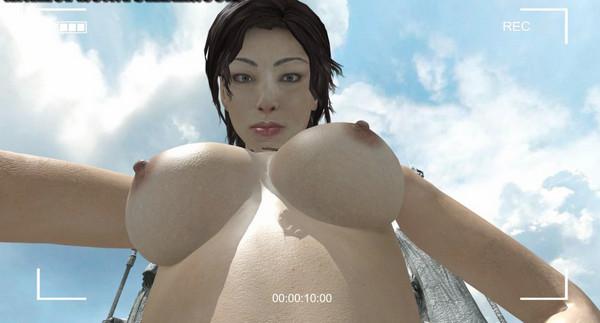 Lara's Anal Solo + Lara's Tit-Bounce Selfie
