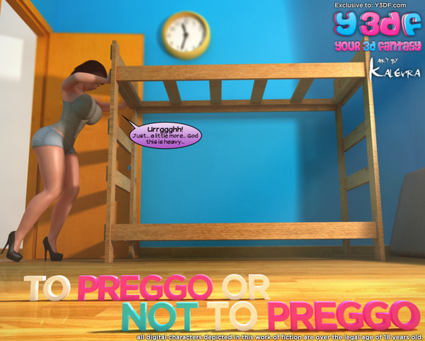 Art by Y3DF – To Preggo or Not to Preggo (Complete)