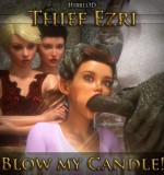 Art by Hibbli3D – Thief Ezri – Blow My Candle