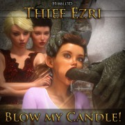 Art by Hibbli3D - Thief Ezri - Blow My Candle