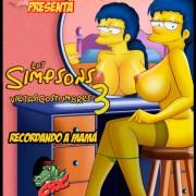VerComicsPorno - Croc - Los Simpsons Viejas 1-5