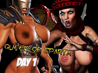 Barbarianbabes - Queen of Sparta and War Goddesses