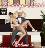 Art by Hipbondage – Bondage Bride 1-3