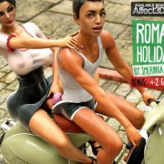Art by Smerinka – Roman Holiday