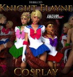 Art by Hibbli3D – Knight Elayne – Cosplay